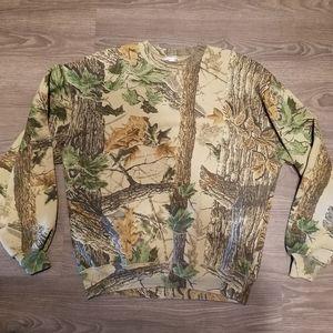 Vintage camo sweatshirt
